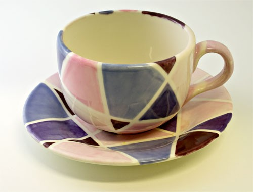 Tasse im Retro-Look